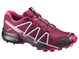 Salomon Women's Speedcross 4 - Tibet Red/Sangria (L39343900)