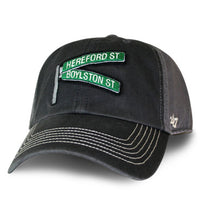 Boston Street Sign 47 Brand Hat - Charcoal (47STREETSIGN)