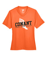 CONANT WOMEN'S PERFORMANCE T-SHIRT - TS-CONANT-TT11W - SPORT ORANGE