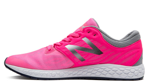 New Balance Girl's Zante v3 - Pink/Light Grey (KZANTUPG)