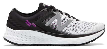 New Balance Women's Fresh Foam 1080 V9 - White/Black (W1080WB9 B)