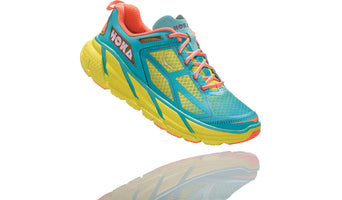 Hoka One One Women's Clifton 1 - Acid/Aqua/Neon Coral (1101944-AANCR)