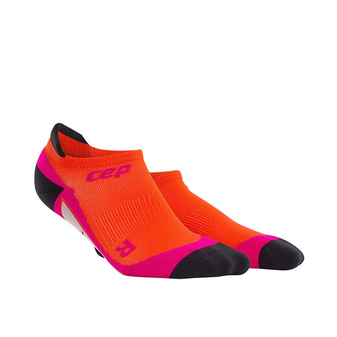 CEP Women's Dynamic No Show Sock - Sunset/Pink (WP4620)