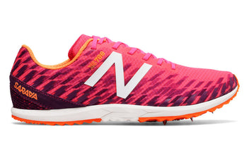 New Balance Women's XC 700 V5 Spike - Alpha Pink/Dark Mulberry (WXCS700R B)