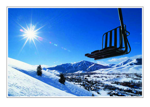 North America's First Chair Lift, Sun Valley