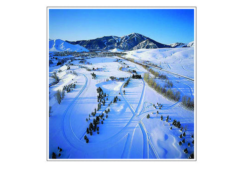 Nordic and Alpine Skiers' Paradise, Sun Valley
