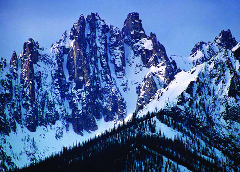 Sawtooth Winter Ridgeline