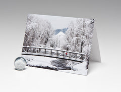 WINTER PLAYGROUND MAGNET CARD