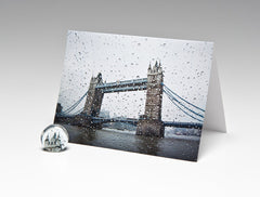 LONDON BRIDGE MAGNET CARD