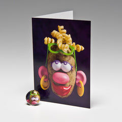 MAMA POTATO MAGNET CARD
