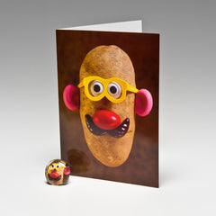 PAPA POTATO MAGNET CARD