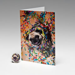 PARTY TIME MAGNET CARD