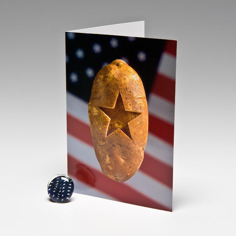 STAR POTATO MAGNET CARD