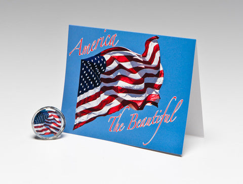 AMERICA THE BEAUTIFUL MAGNET CARD