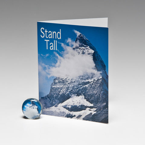 STANDING TALL MAGNET CARD