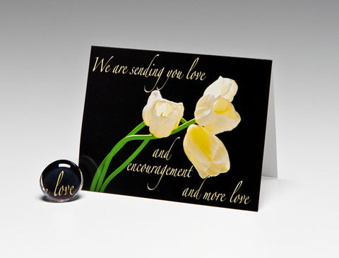 SENDING LOVE MAGNET CARD