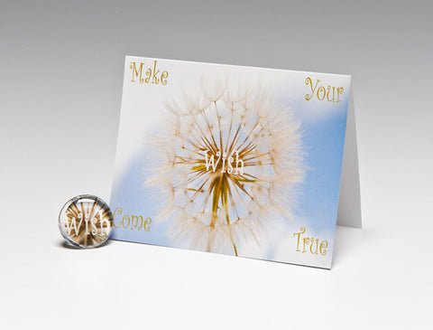 MAKE YOUR WISH MAGNET CARD