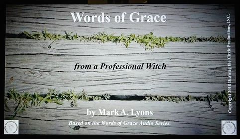 Words of Grace from a Professional Witch (284 Pages)
