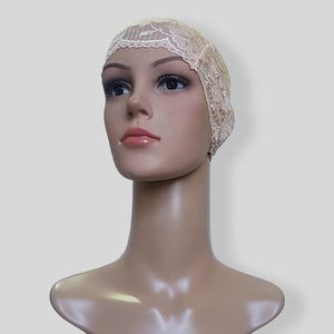 Wheat Hijab Cap SHTUBE35