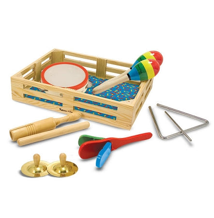 Melissa & Doug - Band in a Box! Clap! Clang! Tap!