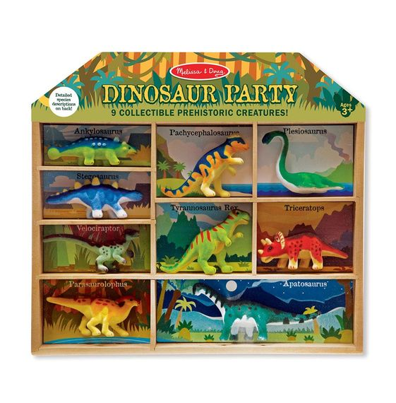 Melissa & Doug - Dinosaur Party Play Set