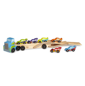 Melissa & Doug - Mega Race Car Carrier