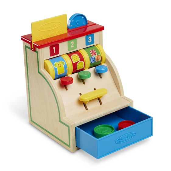 Melissa & Doug - Spin & Swipe Cash Register