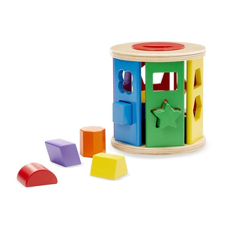 Melissa & Doug - Match & Roll Shape Sorter