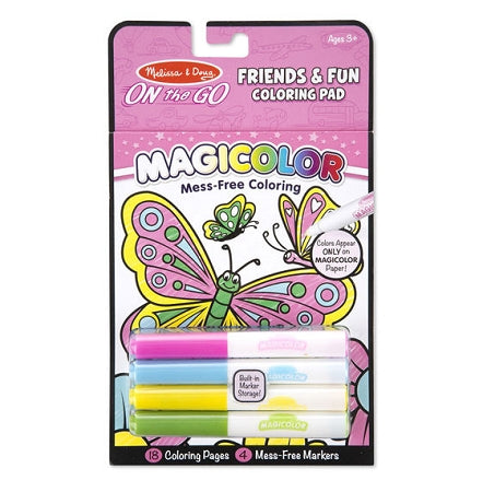 Melissa & Doug - Magicolor Coloring Pad Friendship & Fun