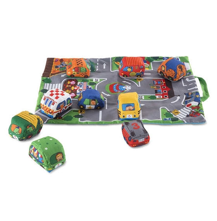 Melissa & Doug - Take Along Town Play Mat