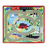 Melissa & Doug - Round the Town Road Rug & Car Set