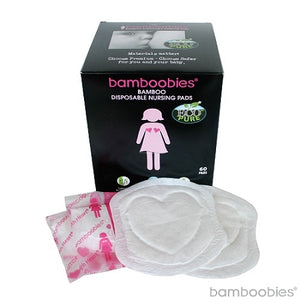 bamboobies EcoPure® Bamboo Disposable Nursing Pads