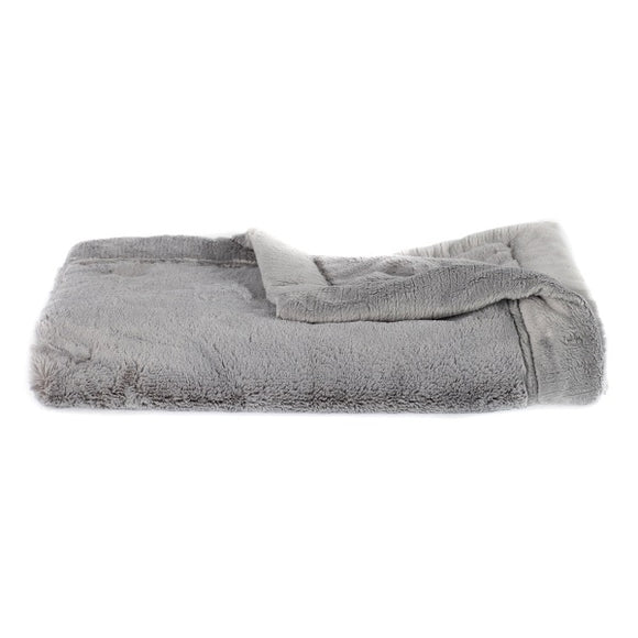 Saranoni Gray Lush Mini Blanket
