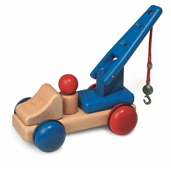 Fagus Wooden Mini Series Tow Truck