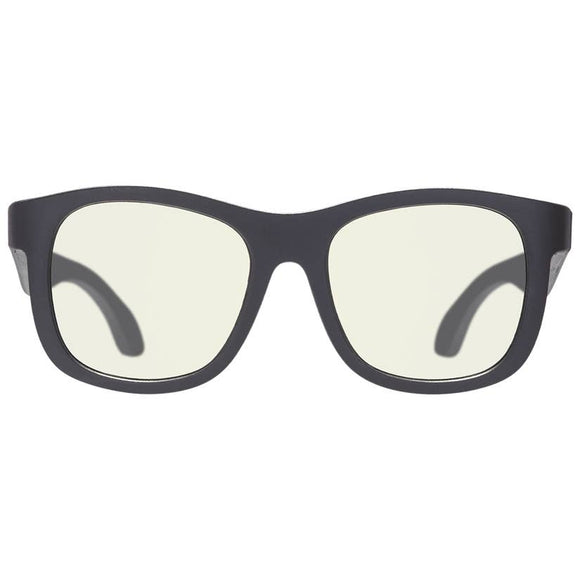 Babiators Blue Light Screen Savers Glasses : Black Ops Black Navigator