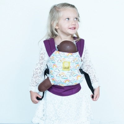 lillebaby Doll Carrier - Rainbows and Smiles