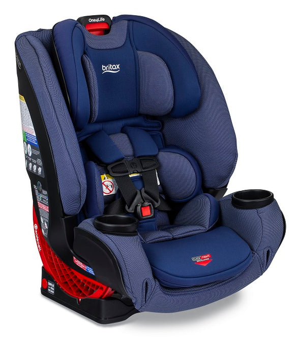 Britax One4Life ClickTight All in One Car Seat in Cadet (Blue w/ texture and SAFEWASH)