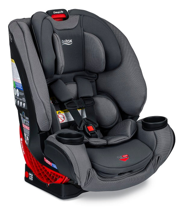 Britax One4Life ClickTight All in One Car Seat in Drift (Gray w/ texture and SAFEWASH)
