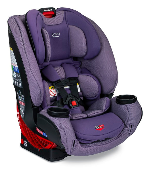 Britax One4Life ClickTight All in One Car Seat in Plum (Purple w/ texture and SAFEWASH)
