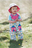 Frugi - Springtime Dungaree Happy Houses (SS17)