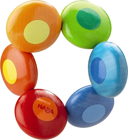 HABA Toys - Clutching Toy Rainbow Circles
