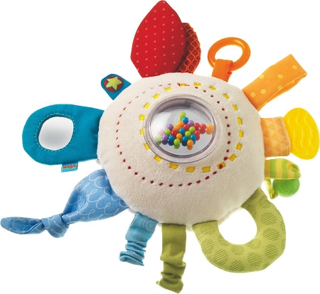 HABA Toys - Teether Cuddly Rainbow Round