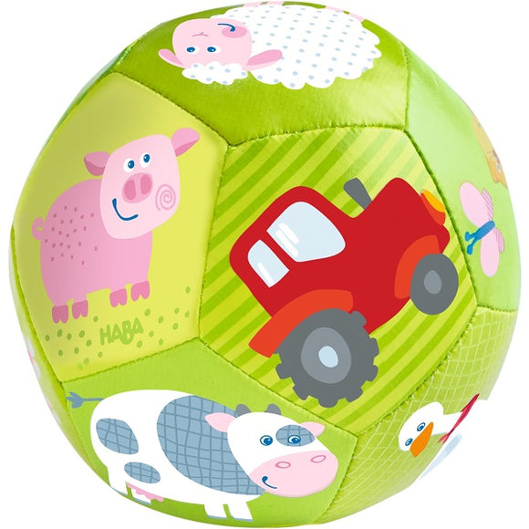 HABA Toys Baby Ball On the Farm 4.5