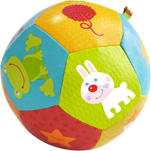 HABA Toys Baby Ball Animal Friends 4.5""
