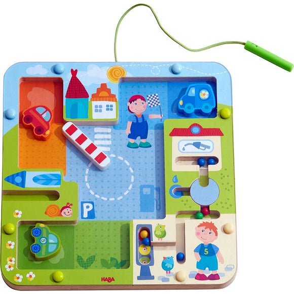 HABA Toys - On the Road Magnetic Game