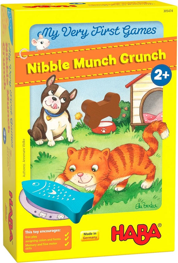 HABA Toys My Very First Games - Nibble Munch Crunch
