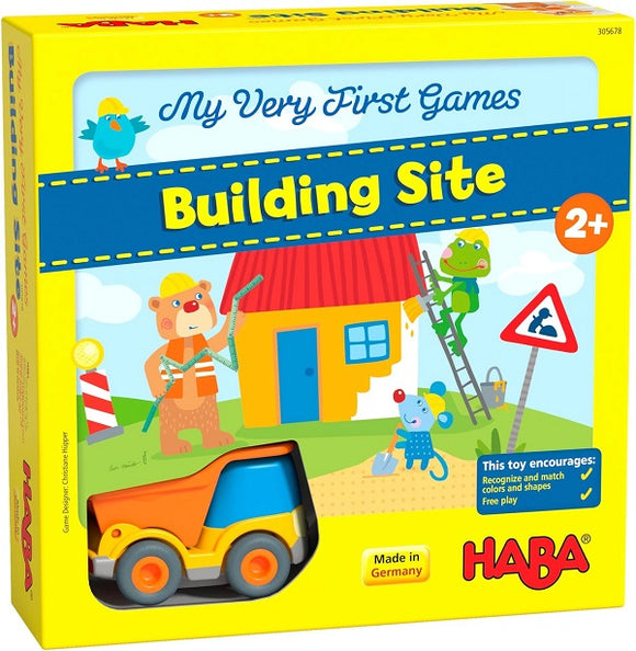 HABA Toys My Very First Games - Building Site