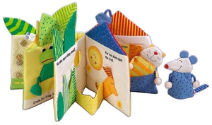 HABA Toys - Little Leaf House Fabric Book
