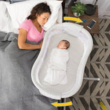 HALO Bassinest Swivel Sleeper Premier - Silver River Stone