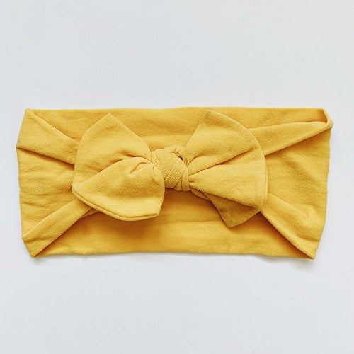 Sugar & Maple Classic Bow Headband - Ginger